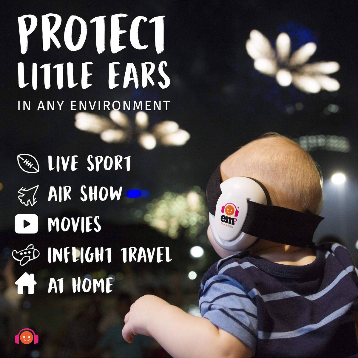 EM s 4/Kids EM s 4/Bubs Orejeras de Protecci/ón Auditiva beb/é Tama/ño 0/ /18/meses