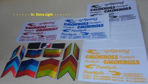 em silk adesivos caloi cross extra light freestyle nylon