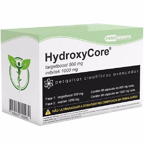 emagreça com saude hydroxycore 240 caps - procorps