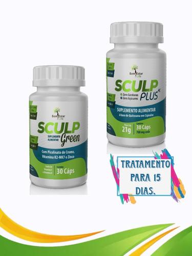 emagrecedor sculp plus+sculp green tratamento 15 dias.