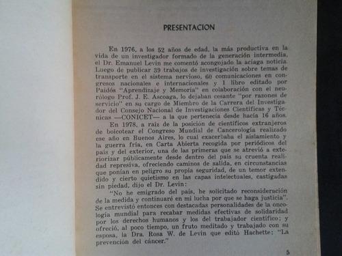 emanuel levin los jóvenes argentinos y la investigación