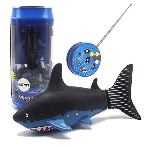 emart mini juguete control remoto rc eléctrico fish fish sha