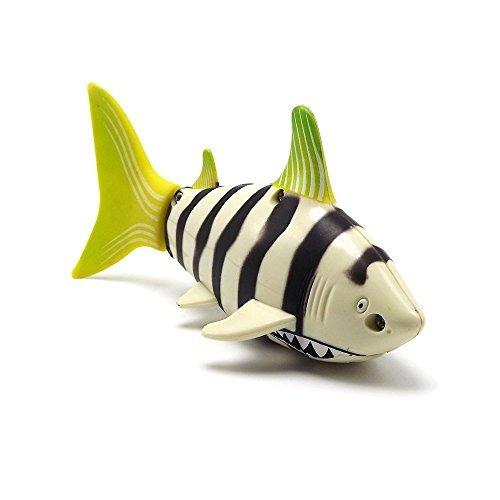 emart mini rc pescado tiburón nadar en aguas barco de jugue