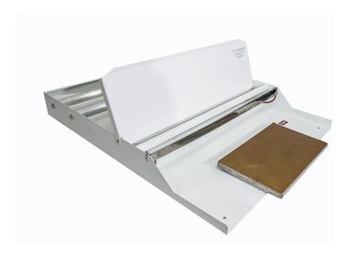 embaladora aplicadora p/ filme mesa frontal 50cm