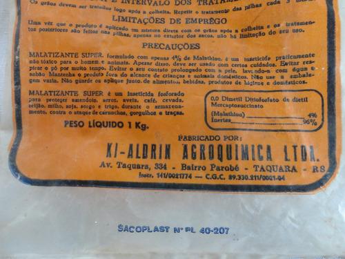embalagem antiga - vazia - ki-aldrin - parobé/taquara - a37