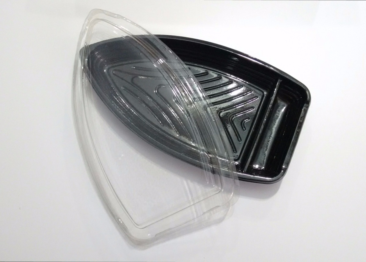 Embalagem Barco Para Sushi 27 Cm X 16cm (30 Unidades) - R  51 4bee888a3d1a0