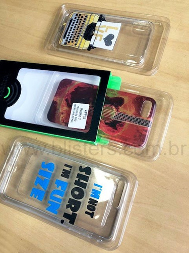 embalagem berço para capa celular - 1000 unidades