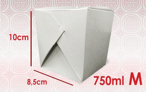 embalagem box refeição e yakisoba personalizada m - 1000 un