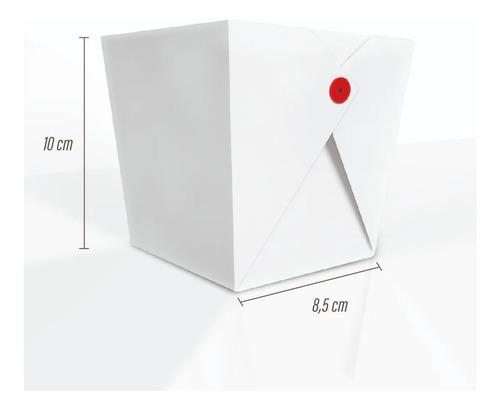 embalagem caixa box p/ comida chinesa 400/700 ml 100 un