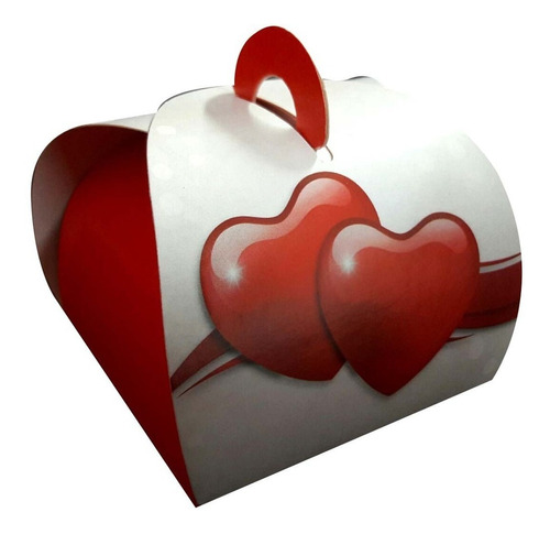 embalagem caixa caixinhas bem casado coração 100 pçs