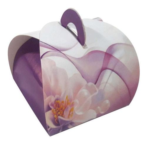 embalagem caixa caixinhas bem casado ( floral ) 100 pçs