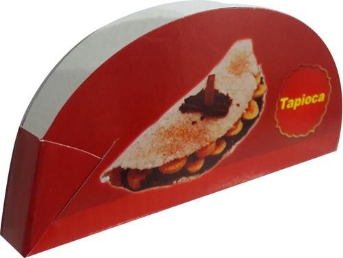 embalagem caixa caixinhas tapioca - 250 pçs