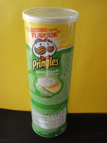 embalagem importada da europa batatas pringles - vazia