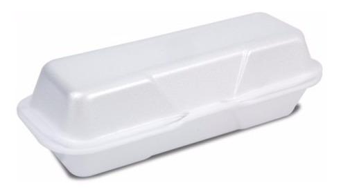 embalagem isopor hot dog cachorro quente hf05 - 100 unid 22x