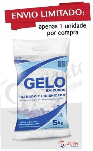 embalagem p gelo 5 kg c/código de barra 17m c/500