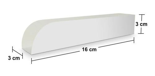 embalagem para churros padrão branco e kraft 500un