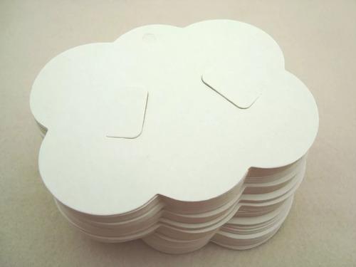 embalagem para presilha bico de pato nuvem +  saquinho