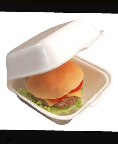 embalagem pra hambúrguer isopor