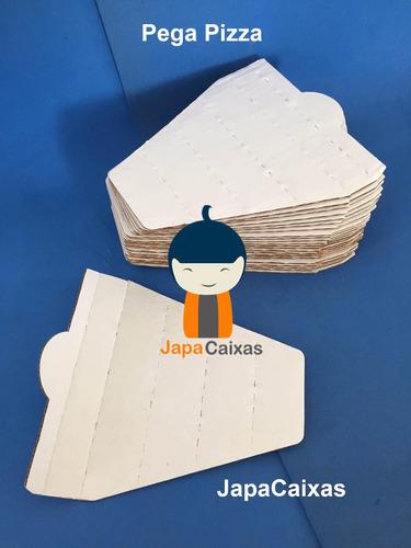 embalagem slice pega pizza individual pedaço fatia c/ 100un.