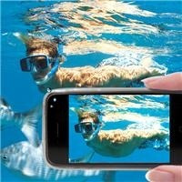 embalagem(pelicula) a prova d'água samsung s4 mergulho,foto