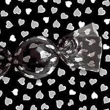 embalagens de trufas coração cromus - pct com 100 unidades