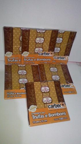embalagens para trufas sabor doce de leite preço de cada kit