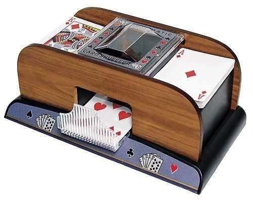 embaralhador automático misturador cartas baralho jogo truco