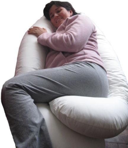 embarazada almohada maternal alivia dolor espalda pre natal