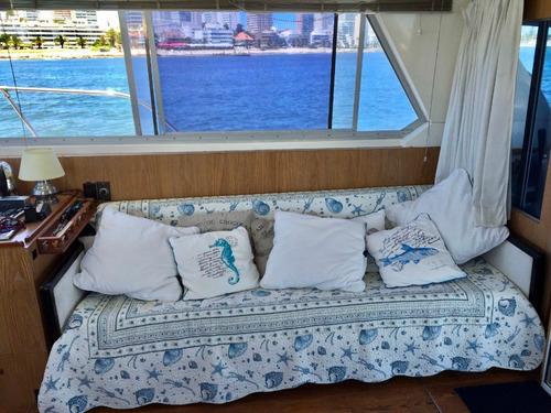 embarcación barco crucero- changui 42 pies