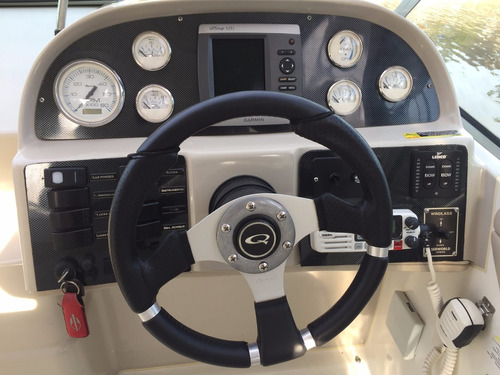 embarcacion cuddy quest 25 con motor volvo 270 hp duoprop