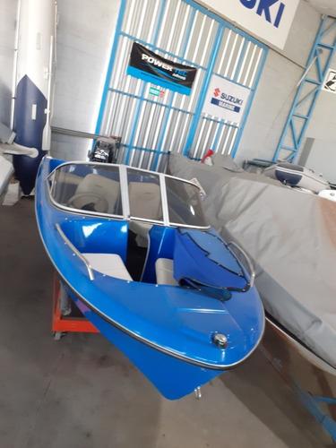 embarcacion lerch advance 400 con suzuki de 30 hp