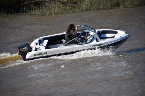 embarcación nueva lancha premium g480 open (sin motor)