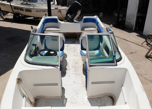 embarcacion open 520 con motor mercury 60 (incluye trailer)