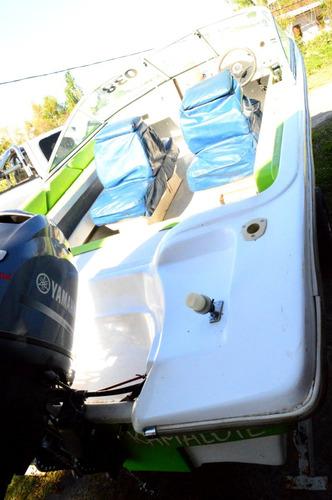 embarcación pacu 550 con motor yamaha 70hp yamaha 4t