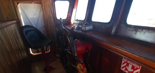 embarcacion polivalente de pesca y carga