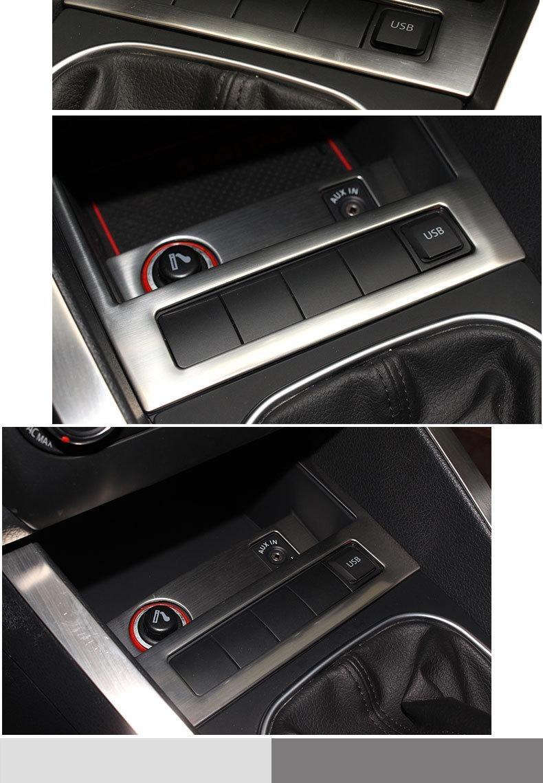 Embellecedor Jetta A6 Botones Aux Usb Asr Mk6 Volkswagen - $ 359.00 en Mercado Libre