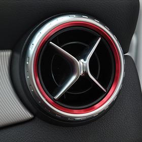 Embellecedor Ventilas Aire Mercedes W117 Cla 180 200 250 45