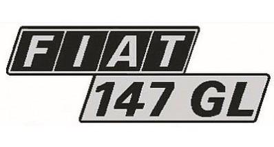 emblema 147 c, gl ou l