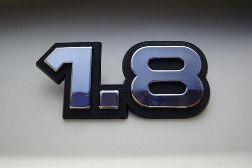 emblema 1.8 p/ chevrolet kadett .../90 - bre