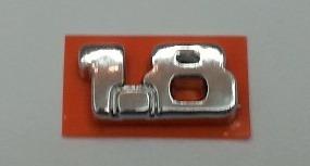 emblema 1.8 strada idea punto palio uno doblo linea 2011...