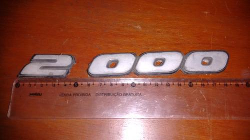 emblema 2000 do gol antigo (original)