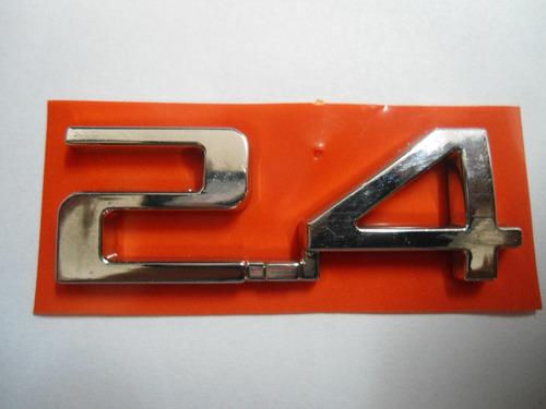 emblema 2.4 p/ chevrolet linha 07/... - bre