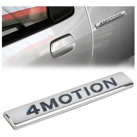 Emblema 4motion Lateral Volkswagen,polo,golf,bora,amarok