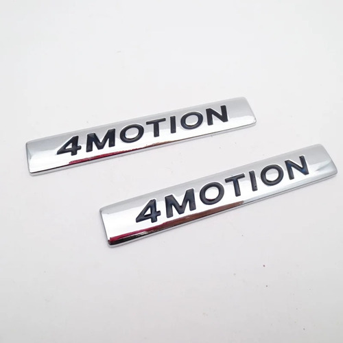 emblema 4motion lateral volkswagen,polo,golf,bora,amarok