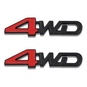 Emblema 4wd Pequeño,para Toyota,ford...