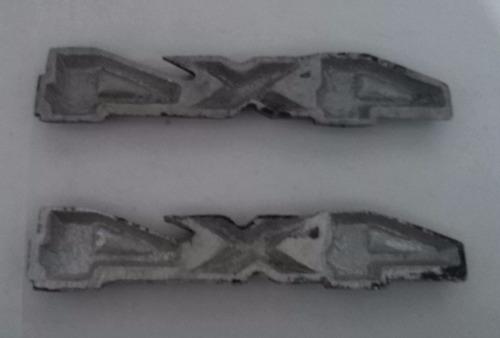 emblema 4x4 en aluminio