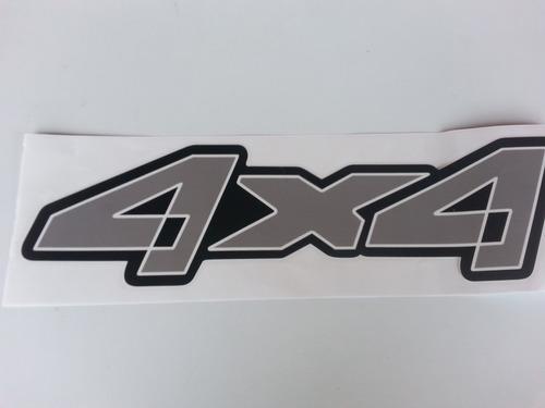 emblema adesivo 4x4 ranger cinza