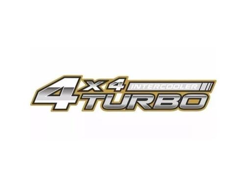 emblema adesivo 4x4 turbo intercooler toyota hilux original
