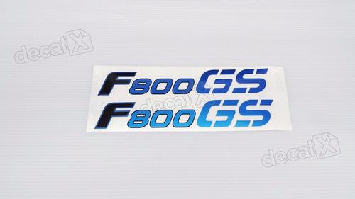 emblema adesivo bmw f800gs 2009 azul par bwf800gsaz