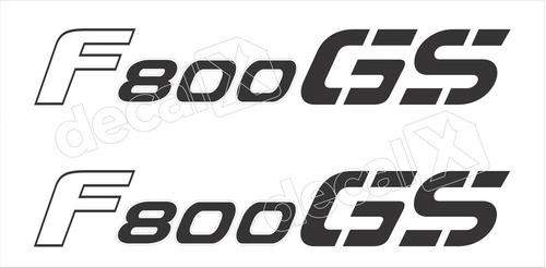 emblema adesivo bmw f800gs 2009 preto par bmf800gsaz